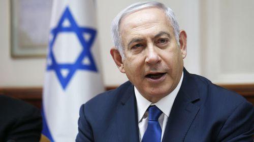 Israel Prime Minister Benjamin Netanyahu.