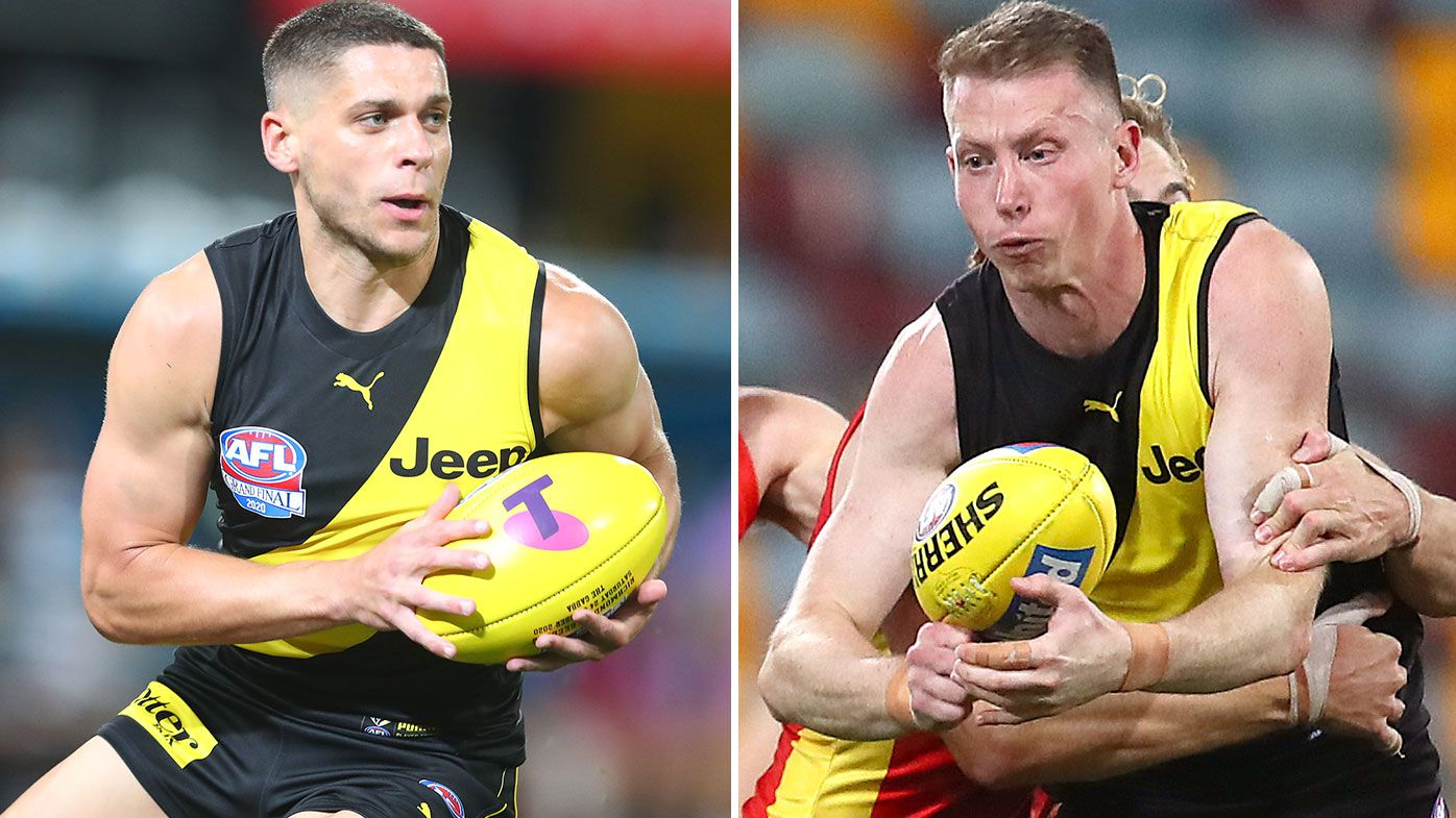 Triple premiership stars Dion Prestia, Dylan Grimes sign contract extensions