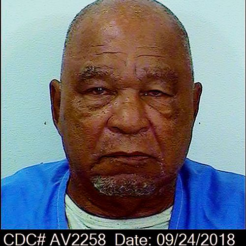 This backup photo from September 24, 2018 provided by the California Department of Corrections shows Samuel Little.  Authorities say Little was the most prolific serial killer in American history.