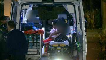 A family of five were rushed to hospital with carbon monoxide poisoning early this morning.