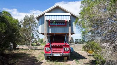 "<p><a href=""https://www.airbnb.co.uk/rooms/9719979"">A&#160;vintage horse truck&#160;in Freshwater Creek</a>, Victoria has been converted into a&#160;small studio apartment with&#160;a queen bed, kitchen and potbelly stove.</p> <p>&pound;79&#160;per night<br /> <br /> Photo: Airbnb</p>"