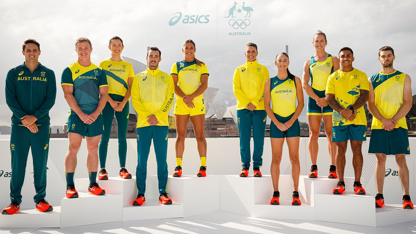 Australian Olympic team uniforms unveiled for Tokyo Games, with Indigenous inspiration