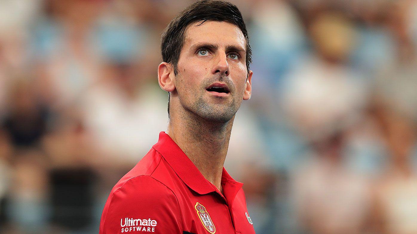 Novak Djokovic leads Serbia into ATP Cup semis