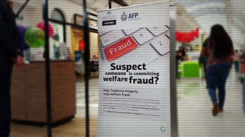 The AFP are encouraging residents of Werribee, Melbourne, to report welfare fraud.