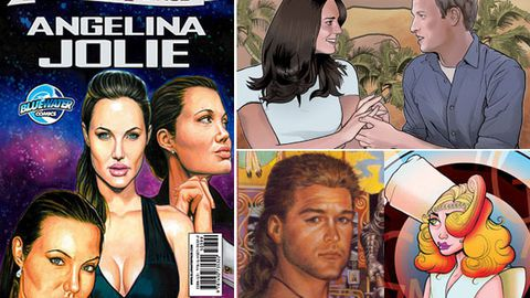 Celebrities in comic books