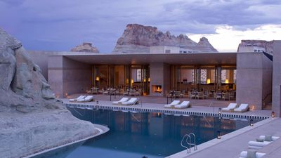 Inside the luxe Utah resort Lara Worthington can't get enough of