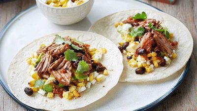 "Recipe:&nbsp;<a href=""http://kitchen.nine.com.au/2016/05/05/11/17/eamon-sullivans-spicy-beef-chuck-tacos"" target=""_top"">Eamon Sullivan's spicy beef chuck tacos</a>"