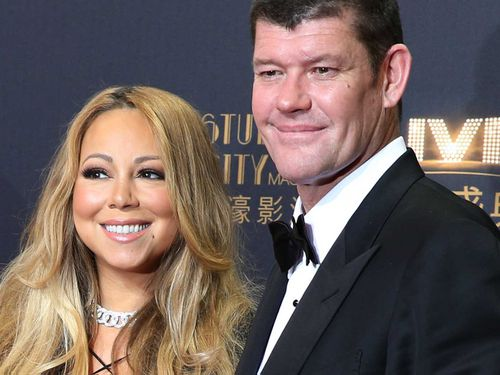 Mr Packer split from his pop star fiancee Mariah Carey in October 2016. (AAP)