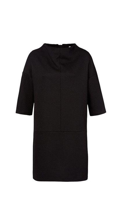 "<a href=""http://www.seedheritage.com/dresses/funnel-neck-dress/w1/i12803328_1001333/"" target=""_blank"">Dress, $129.95, Seed</a>"