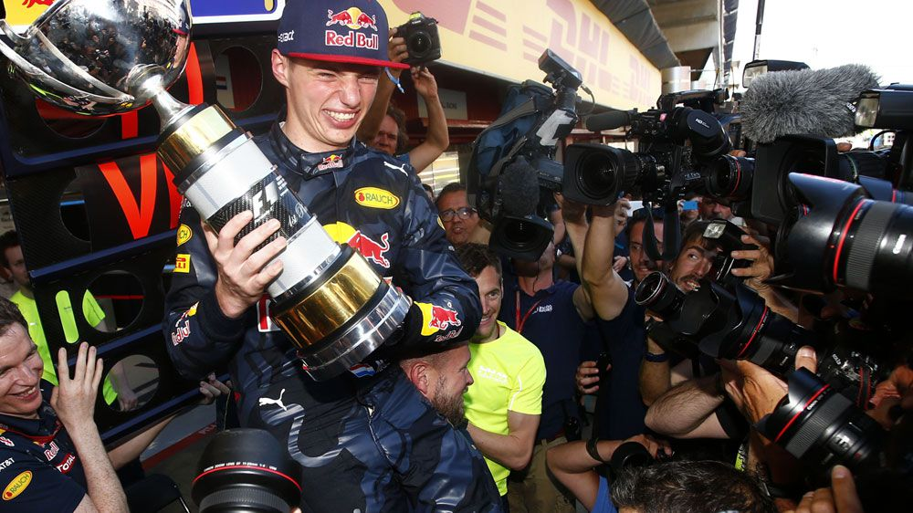 Verstappen rewrites F1 record books