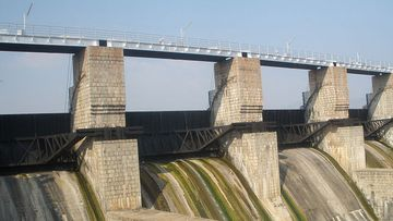 Four members of one family fell and drowned in Pambar Dam in southern India.