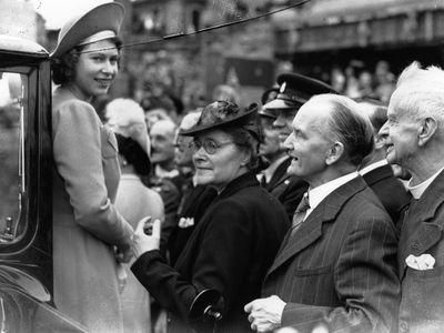 Princess Elizabeth, May 1945