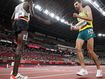 Aussie runner's brave finish after collapsing near end of 10,000m final