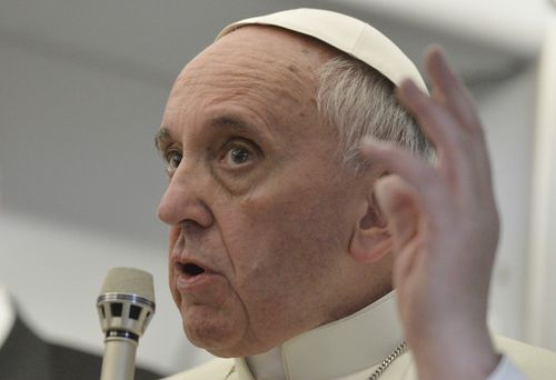 Pope Francis celebrated his fifth anniversary in the role today. (AAP)