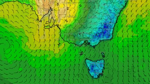 More cool weather is on the way for Australia's southern states. Picture: Weatherzone