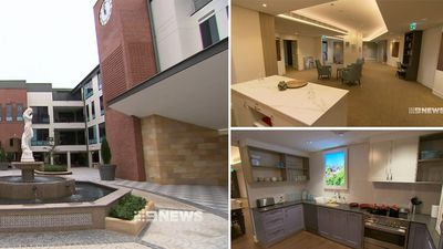 Futuristic aged care facility paves the way