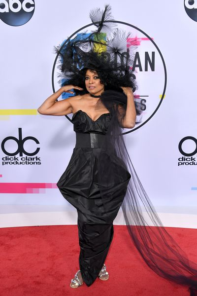 <p>The American Music Awards are like Christmas for Hollywood stylists as pop stars and Insta-celebrities abandon all dress codes and wear whatever they want.</p> <p>Think Britney Spears and Justin Timberlake&rsquo;s infamous attempt at double denim in 2001 and Chrissy Teigen&rsquo;s skin-baring Yousef Akbar ensemble in 2016.</p> <p>But this year&rsquo;s attendees seem to be marching to the beat of a different sartorial drum.</p> <p>Legendary singer Diana Ross is the recipient of this year&rsquo;s Lifetime Achievement and chose to mark the occasion in a bizarre all-black ensemble complete with an over-sized fascinator. </p> <p>Despite looking like she is dressed for her own funeral, with an army of family members including singer Ashlee Simpson Ross and daughter Tracee Ellis Ross (who is also this year&rsquo;s AMAs host) serving as her best accessories, Ross&rsquo;s red carpet appearance may be the most memorable of the night.</p> <p>That said, there was a powerful, sleek all-leather look by a newly-blonde Selena Gomez that managed to catch our attention in the mix as well.&nbsp;</p> <p>Here are the most stylish, outrageous and intriguing ensembles on the red carpet at the 2017 American Music Awards.</p>