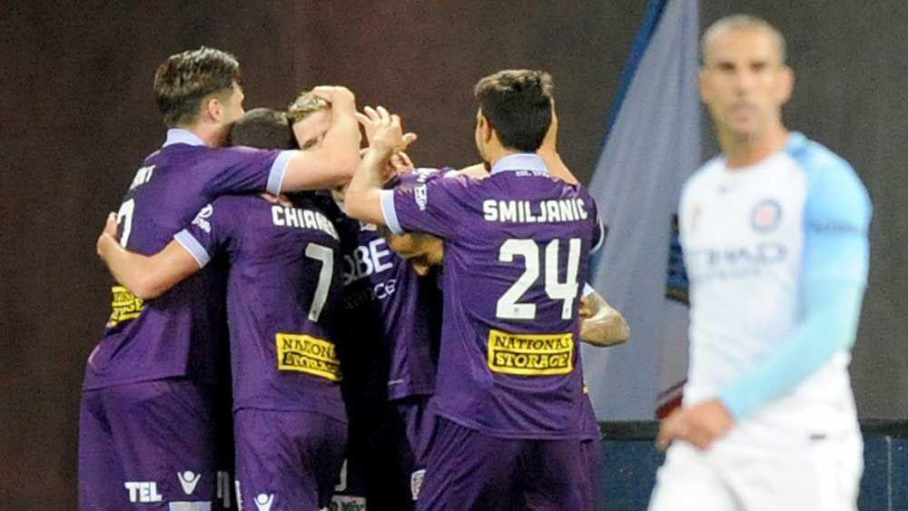 Keogh treble sinks City, puts Glory top