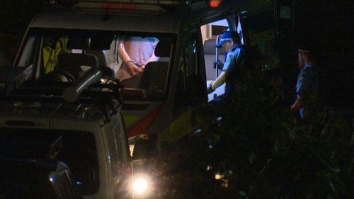 The 56-year-old man was taken into custody after a tense standoff with police at a home in Glebe.