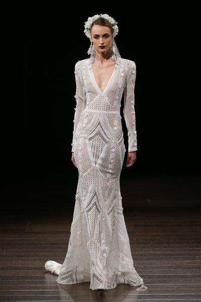 Naeem Khan Bridal Fall 2018.