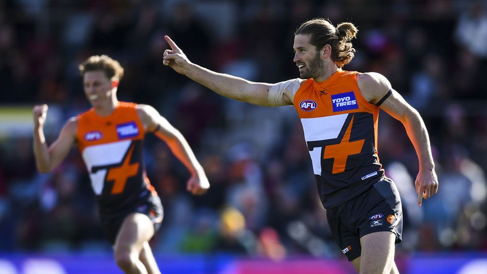 Giants crush Demons in clinical AFL win