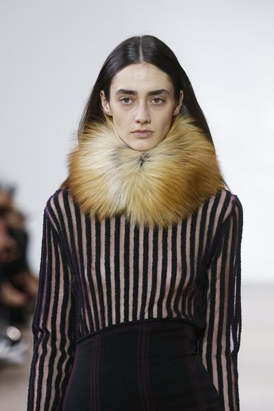 A different sort of way to way to keep your neck warm this winter at Ellery.