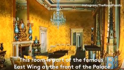 Yellow Drawing room Buckingham Palace major works