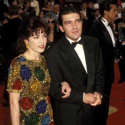 Antonio Banderas (photographed with then-wife Ana Leza)