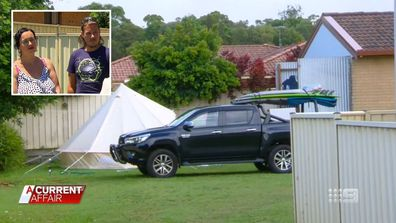 Surprising development for family traumatised by backyard campsite