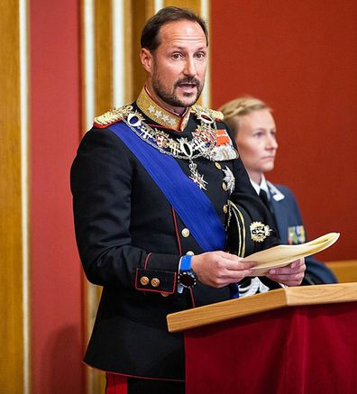 Crown Prince Hakkon of Norway