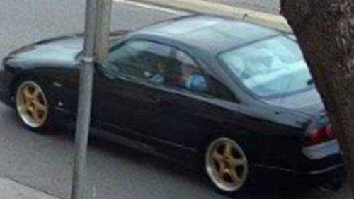Police said the group were travelling in this Nissan Skyline.