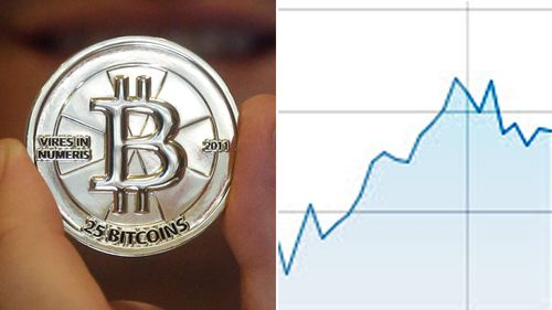 Bitcoin has been going up and down in the past few months. (Supplied)