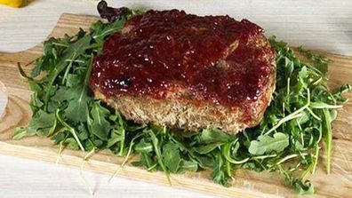 Ugly but delicious meatloaf