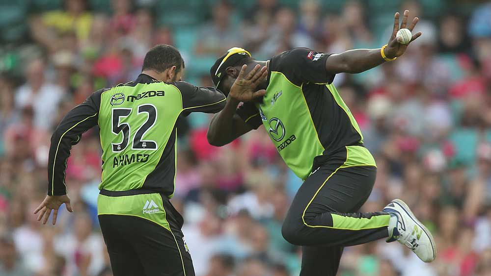 Ahmed puts Sixers in a Big Bash spin