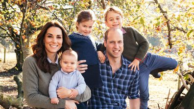 Prince William and Kate Middleton's second Christmas card revealed
