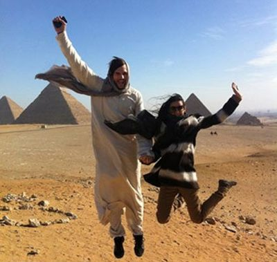 In Egypt!