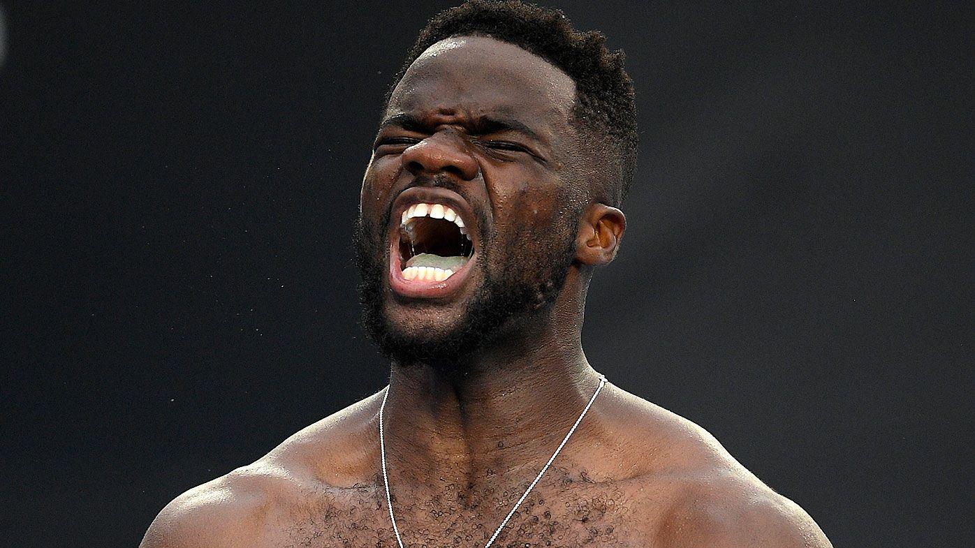 'I'm going after him': Australian Open giant-killer Frances Tiafoe sets sights on Grigor Dimitrov