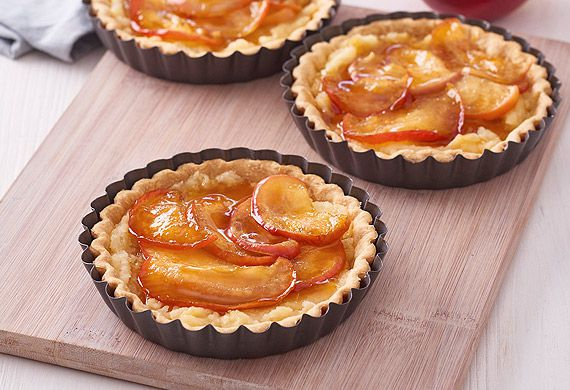 Maple Kanzi apple tarts