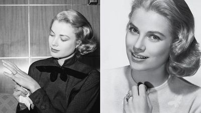 Princess Grace of Monaco's two engagement rings