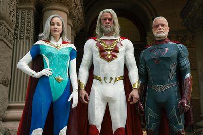 Josh Duhamel, Netflix series, Jupiter's Legacy, interview