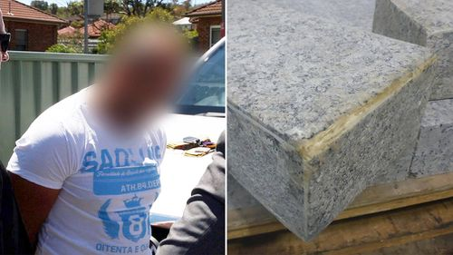 Two men have been arrested after more than 20kg cocaine was seized during a joint-agency investigation in New South Wales. (NSW Police)