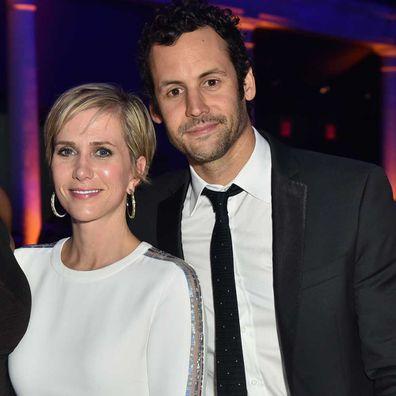 Kristen Wiig and Avi Rothman.