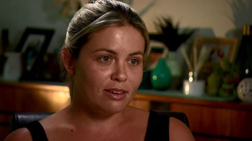 Customer Kirsty Gilmour revealed on A Current Affair last night she had filed a complaint about Mr Cawley.