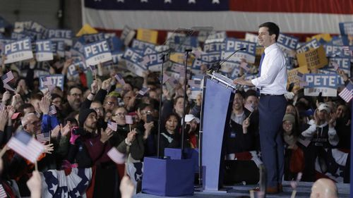 Pete Buttigieg would be the youngest president ever.