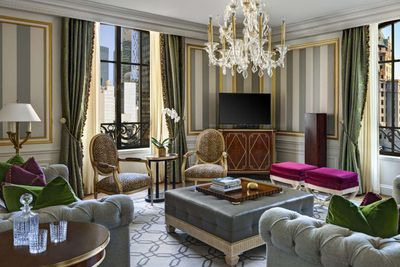 <strong>Presidential Suite, The St. Regis New York, New York City </strong>