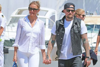 "Cameron Diaz and Benji Madden tied the knot yesterday at their Beverly Hills mansion after eight months of dating... and we've got the details and sneaky shots from their big day.<br/><br/>""We couldn't be happier to begin our new journey together surrounded by our closest family and friends,"" the loved-up couple told <i>People</i> magazine.<br/><br/>So what did Cameron's dress look like? What did the bridesmaids wear? And what faux pas did the groom make? <i>Us Weekly</i> shared all the goss from the nuptials.<br/><br/>Image: Cam and Benji on holiday in 2014. Snapper."