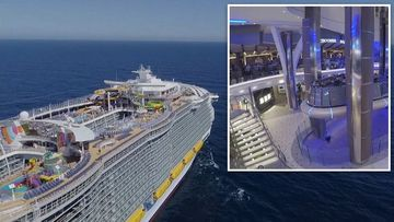 Move over Titanic! Royal Caribbean launches mammoth new ship