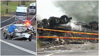 Four killed in five hours on NSW roads