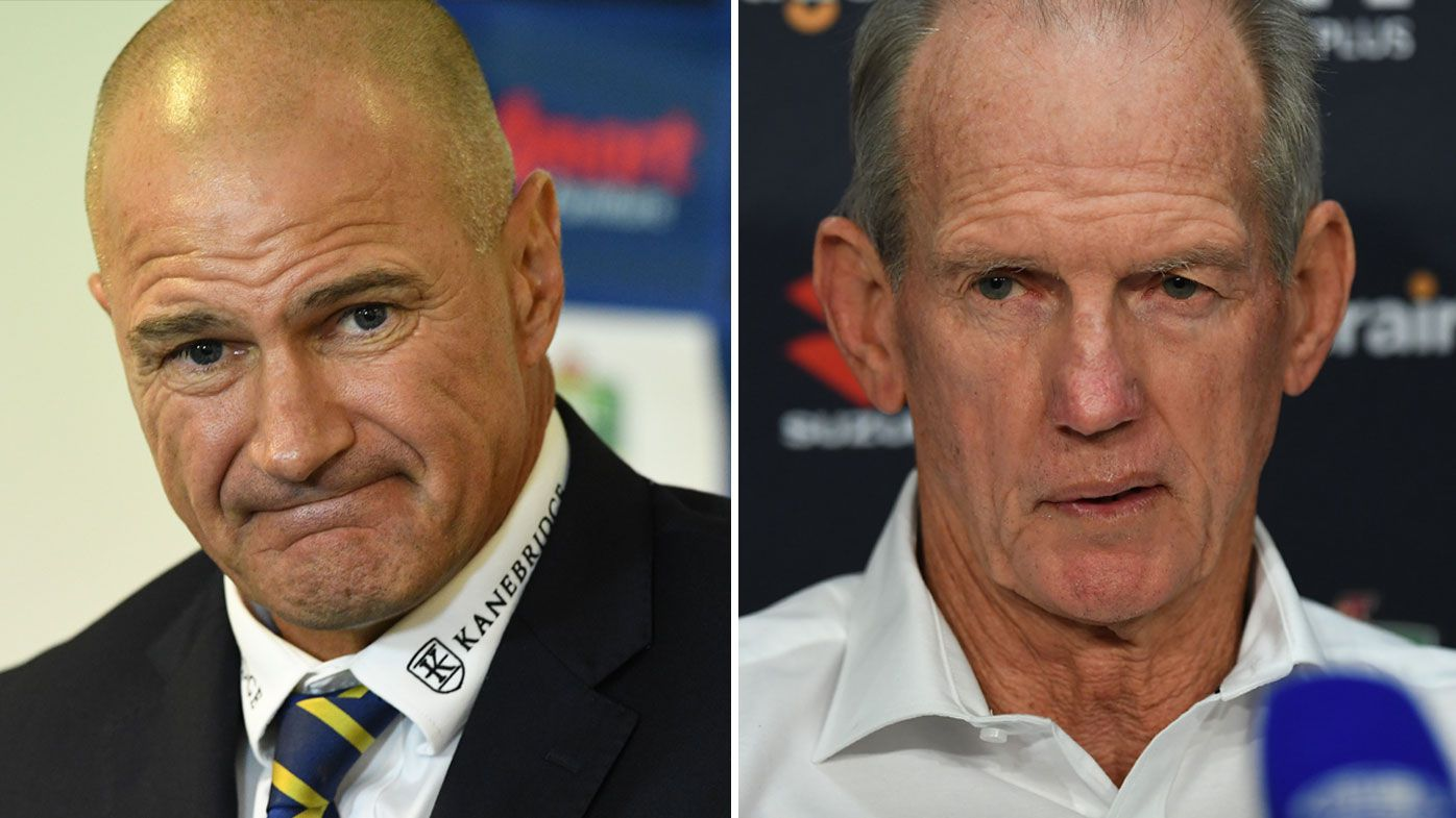 Wayne Bennett and Brad Arthur