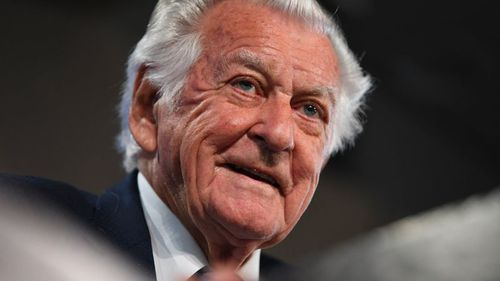 A spokesperson for Mr Hawke said 'he's doing fine and is hoping to be discharged in the next 24 to 48 hours'. (9NEWS)